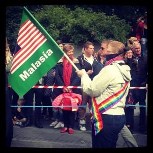SG í Gay Pride